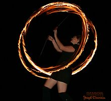 Fire Twirling by Joseph Darmenia
