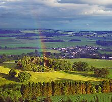 Rainbow over Fife by Euan Christopher