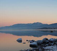 Ben Nevis and Loch Eil. by John Cameron