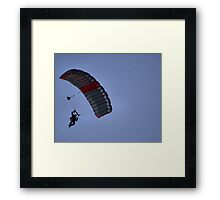*...The wind beneath my wings....* Framed Print