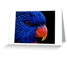 Got the blues... Greeting Card