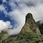 Iao Needle - West Maui Hawaii by DJ Florek
