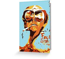 Fear and Loathing in Las Vegas Painting Greeting Card