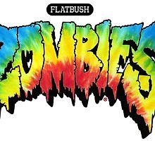 FlatBush Zombies Tie Dy by erper
