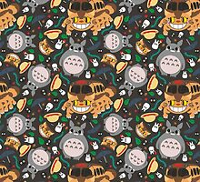 Totoro pattern.01 by SaMtRoNiKa
