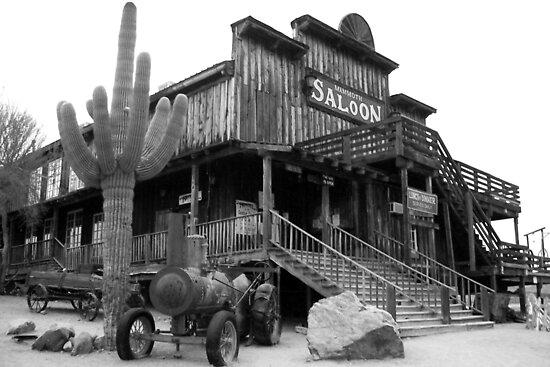 Old West Saloon, Arizona by John Carpenter
