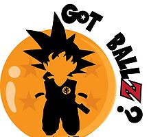 Goku Sayian - Got ballzz! by kennypepermans