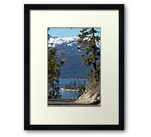 Road To The Lake Framed Print