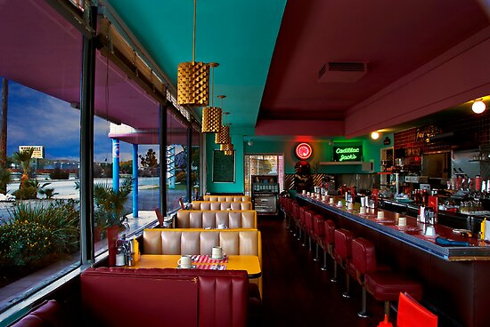 The Diner, San Fernando, California by JRScalzo