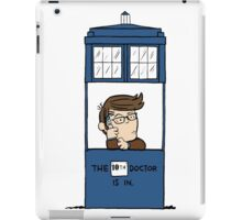 Doctor Who in Peanuts  iPad Case/Skin