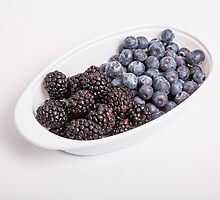 Black and Blue Berries by dbvirago