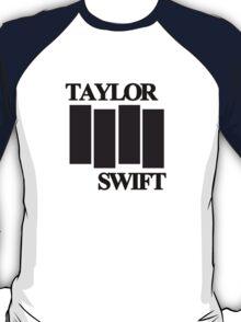 taylor swift black flag logo T-Shirt