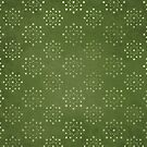 Green Dot Circles by MagentaStyle