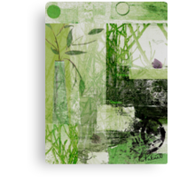 Faded Floral Canvas Print