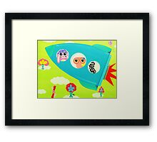 Journey With Time Framed Print