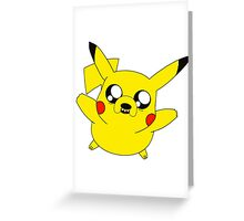 Jakachu Greeting Card