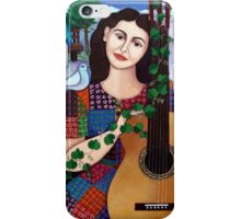 Violeta Parra and the song Back at 17 - Volver a los 17 iPhone Case/Skin