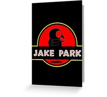 Jake Park Greeting Card