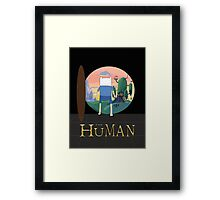 The Human Framed Print