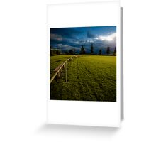 Playing fields 1 Greeting Card