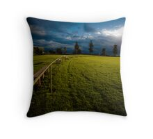 Playing fields 1 Throw Pillow