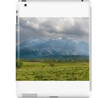 Mountain panorama iPad Case/Skin