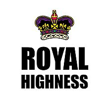 Royal Highness Crown Photographic Print