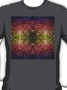 Beautiful rainbow yellow red purple sparkles T-Shirt