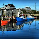 Morning in Peggy&#x27;s Cove by kenmo