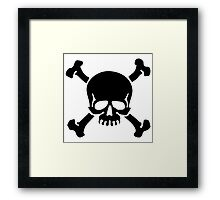 Good ol' Jolly Roger Framed Print