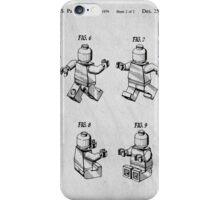 Lego Mini Figure Original Patent iPhone Case/Skin