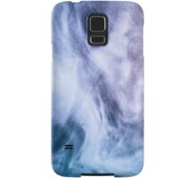 Blue and purple abstract heavenly clouds Samsung Galaxy Case/Skin