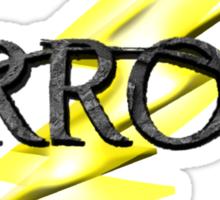 Tv Series Arrow and Flash cross-over Sticker
