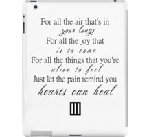 For all the joy iPad Case/Skin