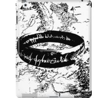 The ONE Ring, L'unico Anello iPad Case/Skin