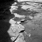 cliffs in the shadows by dannitiller