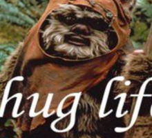 Ewok Thug Life Sticker