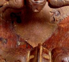 Medieval Door Knocker Sticker