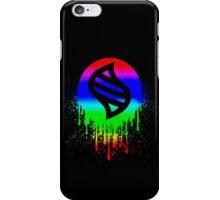 Keystone splatter iPhone Case/Skin