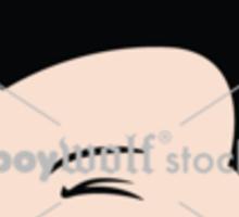Wolfie un-fukwitable Sticker