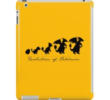 Evolution of Pokémon iPad Case/Skin