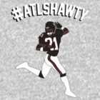 #ATLSHAWTY - Deion Sanders T-shirt by mustardofdoom