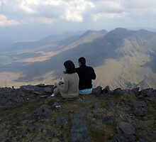Carrauntoohil lunch by John Quinn