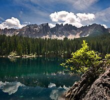 Lake Carezza by Krys Bailey