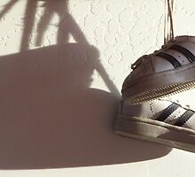 memories of baby shoes by Lori  Wilson