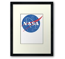 Vintage NASA Framed Print