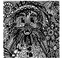 Garden Gnome Aussie Tangle by Heather Holland - See Description for Colour Options by Heatherian
