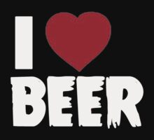 I Love Beer - T-Shirts & Hoodies by RaymondsJessica