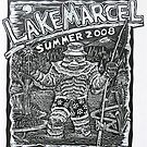 Lake Marcel T-Shirt Design by daniel cautrell