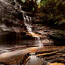 Junction Falls, Blue Mountains, Australia by David Mapletoft